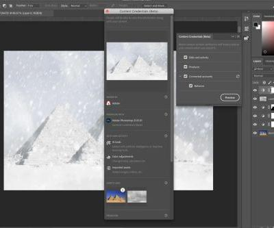Photoshop will get a 'prepare as NFT' option soon