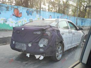 2020 Hyundai Verna Spotted In India Yet Again Expected Design Features Engine Options India Launch