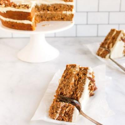The best gluten free carrot cake