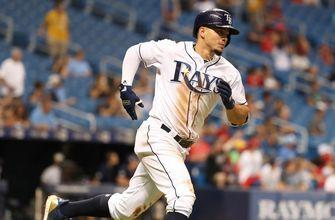 Willy Adames, Jake Bauers homer in 7-2 win over Angels as Tyler Glasnow makes Rays debut