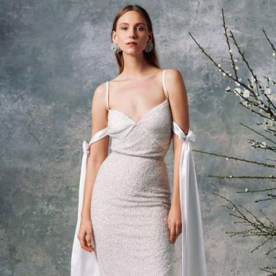 6 Brands That Make the Least Basic Wedding Dresses Ever