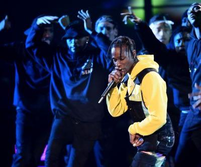 Watch Travis Scott Perform With James Blake At The 2018 VMAs