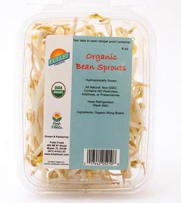 Organic sprouts sold at Whole Foods Recalled