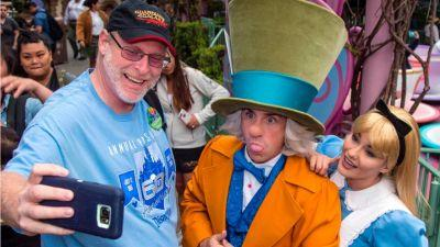 Dedicated Disneyland fan visits park 2,000 times