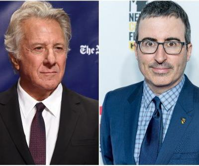 Accusers thank John Oliver for Dustin Hoffman confrontation