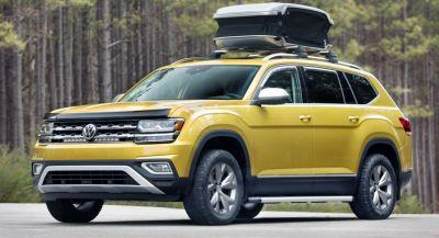 VW Atlas Weekend Edition Concept Coming To Chicago Auto Show