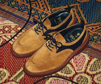Nicholas Daley Dips Into the Tricker's Archive for SS19