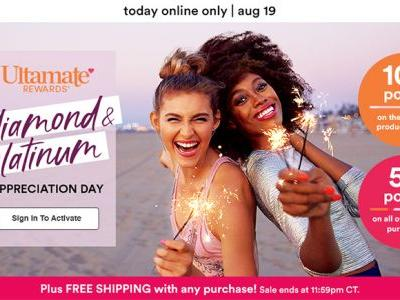 Ulta Diamond & Platinum Appreciation Day 2019