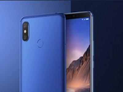 Xiaomi Mi Max 3 Blue Available For Purchase at 1999 Yuan