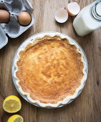 Eatymology: Buttermilk Pie