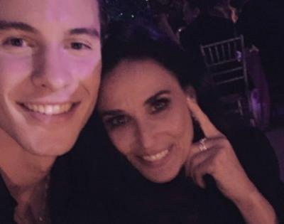 Rumer Willis Jokes That Shawn Mendes Is Her 'New Stepdad' After Demi Moore Posts a Selfie of the Pair