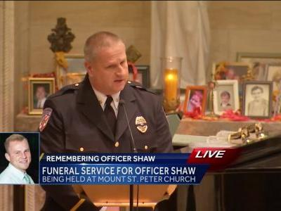 'Until we meet again, my friend:' New Kensington police chief's eulogy for Officer Brian Shaw