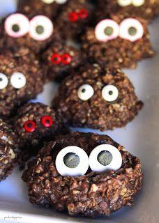No Bake Penotti Monster Cookies