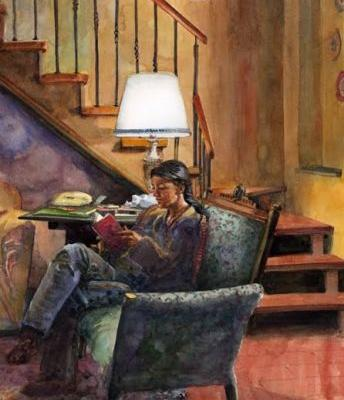 Watercolor: New and Notable - and Skill Building in Figurative Watercolors