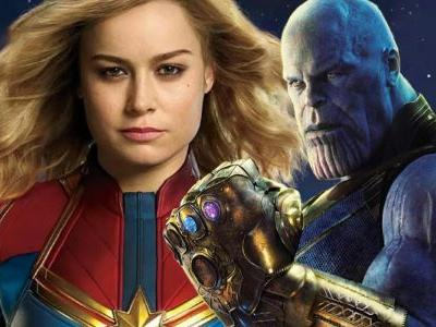 Brie Larson Teases the Easiest Way for Captain Marvel to Kill Thanos