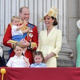 Prince Louis Happily Shows Off His Top-Notch Waving Skills at His Trooping the Colour Debut