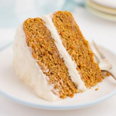 Vegan Carrot Cake with Frosting