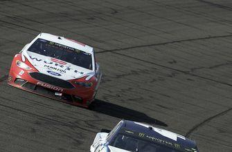 Larson wins 5th career pole, Harvick also in front at Dover