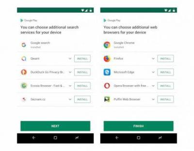 Google starts asking Android users in Europe which browser they want