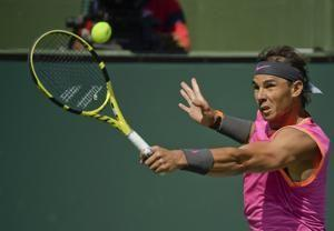 Federer reaches Indian Wells final after Nadal's withdrawal