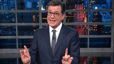 Stephen Colbert Gives Donald Trump's Wall Speech An Uproarious Alternate Ending