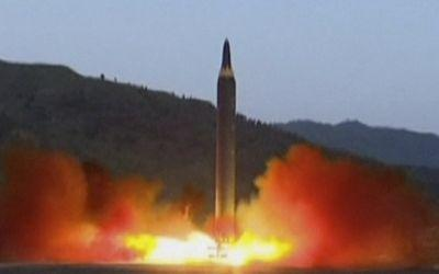 North Korea launched a missile that flew over Japan