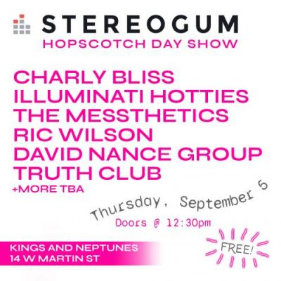 Stereogum Day Show At Hopscotch 2019 Announced