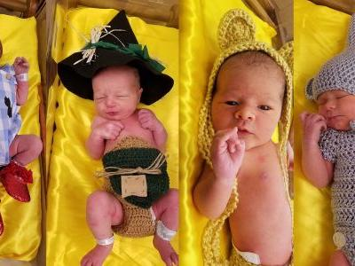Hospital dresses babies up as 'Wizard of Oz' characters to celebrate movie's 80th anniversary