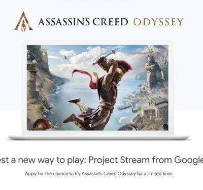 Invites to play Assassin's Creed Odyssey arrive for Project Stream users