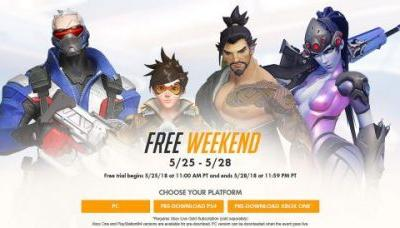 Overwatch is free to play this weekend on PC, PS4, and Xbox One