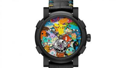 Luxury Pokémon Watch Will Set You Back $258,000