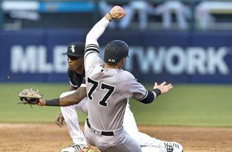 No room: Frazier squeezed out of Yanks' lineup, sent down