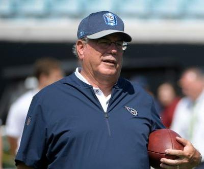 Titans coordinator leaves game in wheelchair to go to hospital