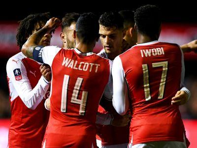 Sutton United 0-2 Arsenal: Perez and Walcott end non-league side's dreams