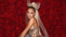 Ariana Grande's Upside-Down Christmas Tree Is The Perfect End To Her Year