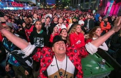 Toronto sports fans in a frenzy as Raptors reach NBA Finals
