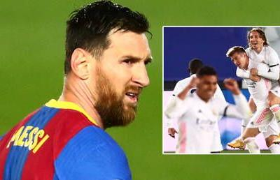 El Clasico: Real Madrid win piles more misery on Messi as Barcelona legend makes it seven derbies without goal against arch-rivals