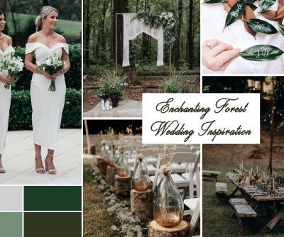 Outdoor Wedding Ideas: Enchanting Forest Ceremony Inspiration