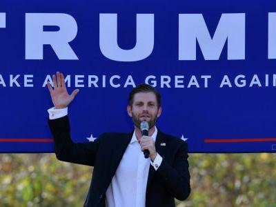 Eric Trump tried to make Biden look corrupt by sharing a picture of a palatial house he claims the Democrat lives in - but Biden sold it 24 years ago