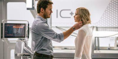 New Passengers Clip Reveals an Intergalactic First Date