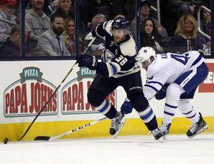 NHL: Blue Jackets top Maple Leafs with balanced scoring
