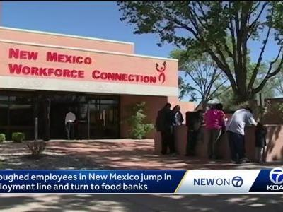 Unpaid government workers turn to the community for help
