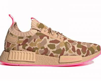 "Adidas NMD R1 Receives Cream-Colored ""Duck Camo"" Uppers"