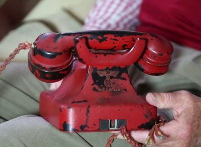 Adolf Hitler's wartime phone sold for more than £195,000 at a US auction