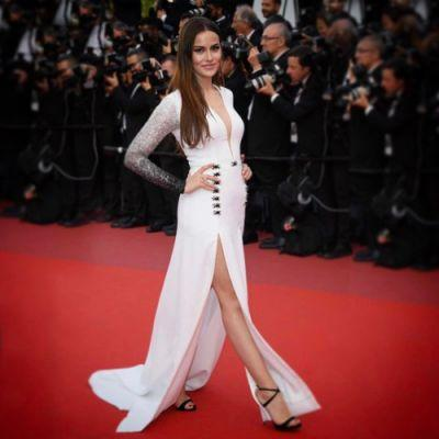 Turkish actress Farhiye Evcen rocked the Red Carpet in GEORGES