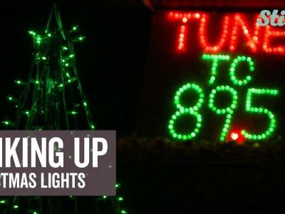 Teen's Christmas dream comes true when he creates ultimate synchronized light display