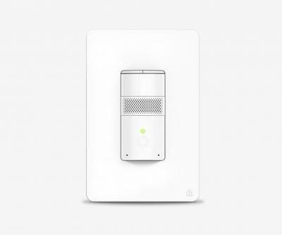 This smart light switch does it all - voice assistant, motion sensor, night light, intercom