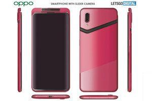 Oppo receives another patent for a phone with a camera slider