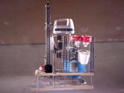 Move Over, Mary Berry: This Guy Built a Cake-Mixing Robot