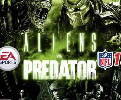 Whatever we as a species did to have Alien vs. Predator Football cancelled, I'd just like to apologize